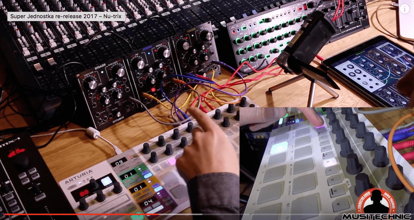Modular synth – Roland effectors – Arturia BeatStep Pro