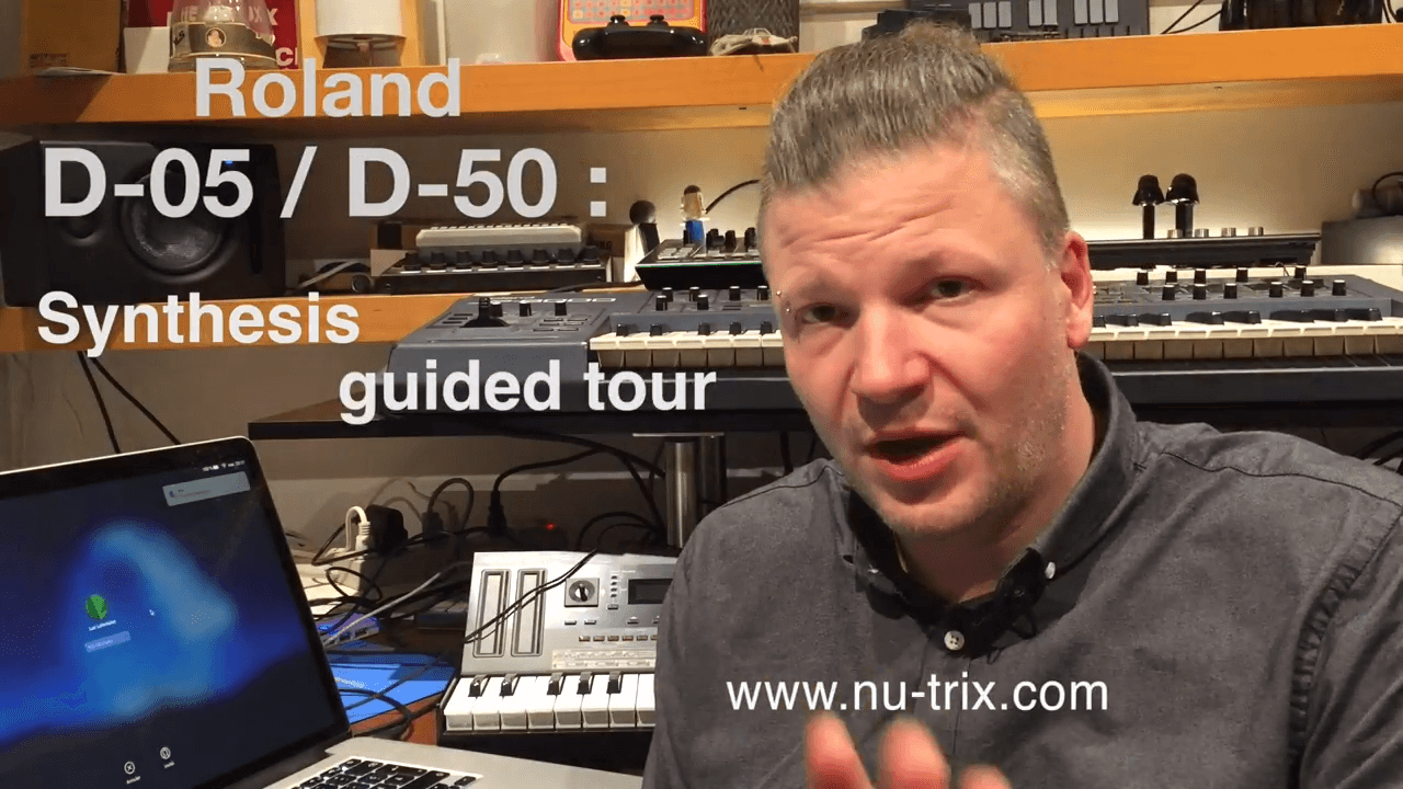 The Roland D-05 Synthesis