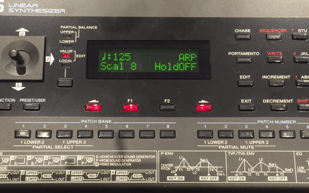 Get the most out the D-05 Sequencer and Arppegiator