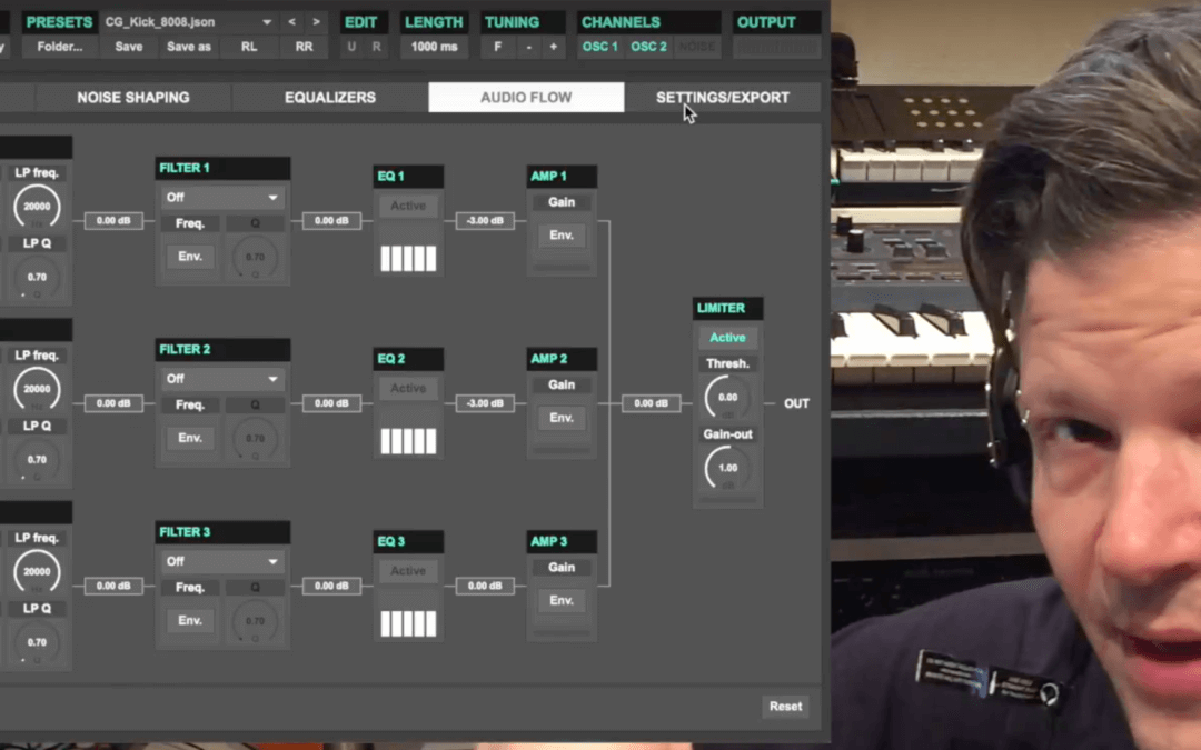 Using Ultrakick to create your own drum sounds
