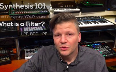 Synthesis 101 : How to make your own sounds