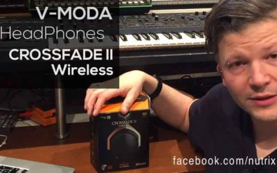 V-MODA Crossfade II Headphones. Custom with your logo!
