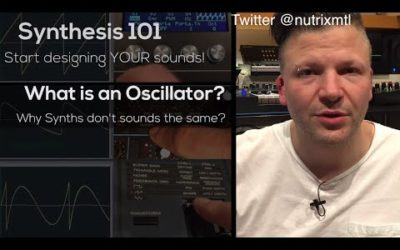 Synth 101 – P.1 : what is an oscillator?