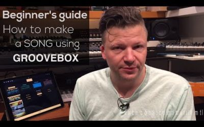 How to make a song using Groovebox