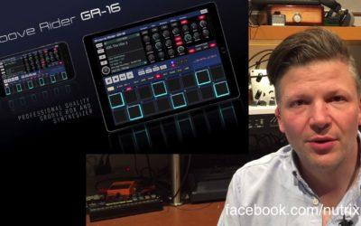 Groove Rider GR-16  review : A great DAW on iPad
