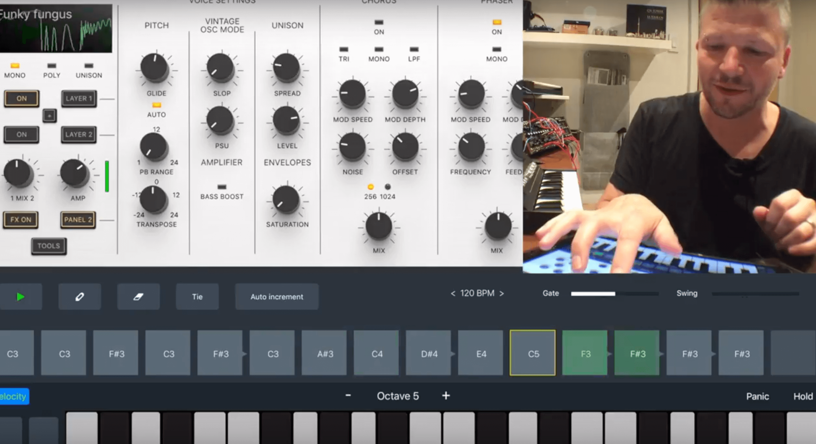 Zeeon iOS Synth from Beepstreet