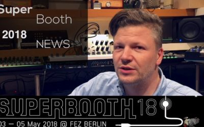 New synths at the SuperBooth 2018