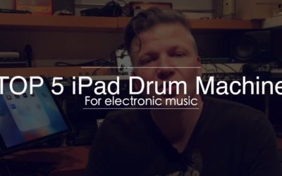 The top 5 iPad drum machine apps for electronic music