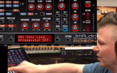 JimAudio Poison 202 iPad soft synth