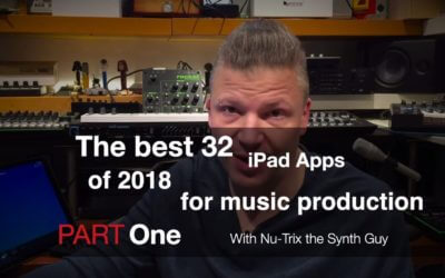 The 32 best iPad music making apps of 2018
