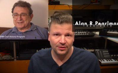 Alan R. Pearlman has passed away