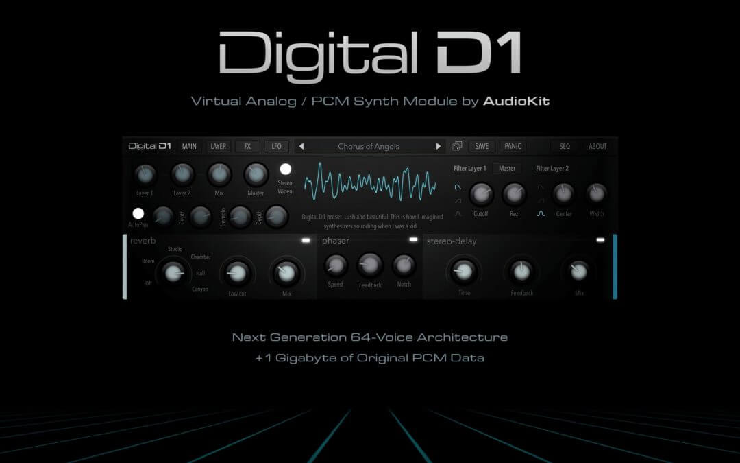 Audio Kit Digital D1 synth