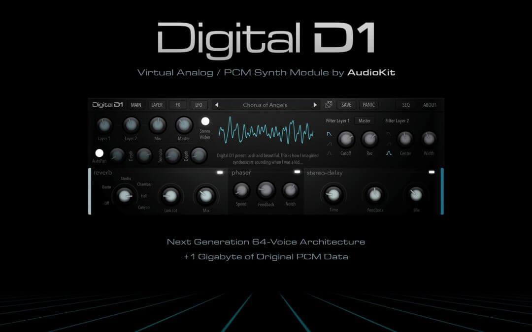 Audio Kit Digital D1 synth